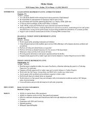 Office Representative Resume Samples Velvet Jobs