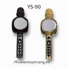 Míc Hát Karaoke kèm Loa Bluetooth YS-90 – Phụ Kiện Huy Trang
