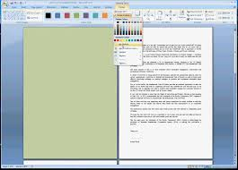 Small Picture How to change the background color of a single page in MSWordavi