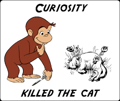 Curious George Crosses the Line – (Meme) | anonamos3021 via Relatably.com