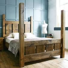 image of rustic bed frame original