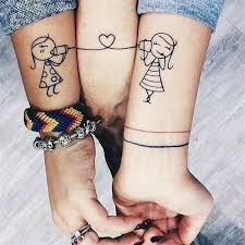 23 Cute Best Friend Tattoos For You And Your Bff Crazyforus