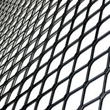 Raised Expanded Metal Size Chart Sheet Of Expanded Metal Coated Powder Mesh Aluminum Sizes
