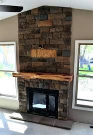 rustic fireplace mantels wood ideas uk