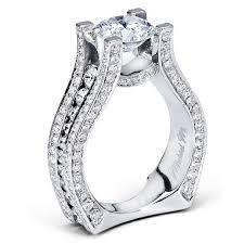 michael m strada diamond semi mount enement ring r302 2