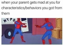 Characteristics Of A Superhero Dopl3r Com Memes When Your Parent Gets Mad At You For