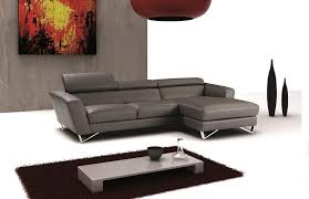leather sectional sofas. Perfect Sectional Spectra Mini Gray Italian Leather Sectional Sofa  And Sofas
