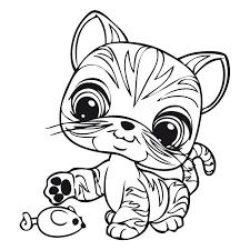 Personaggio Littlest Pet Shop Da Colorare 2 Disegni Da Colorare E