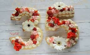 Create A Show Stopper Birthday Cake In Number Shape