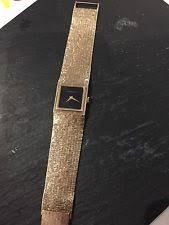 bueche girod wristwatches bueche girod 9ct gold authentic men watch 1970s valued at £3k