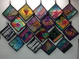 Pot holders on the working wall! | Cherie St. Cyr, fiber artist & It's ... Adamdwight.com