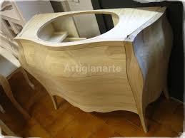 Mobili Bagno Legno Naturale : Mobili bagno in legno grezzo pasionwe