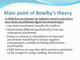 essay about attachment theory