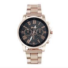 2016 golden watch r number geneva watch men women stainless 2016 golden watch r number geneva watch men women stainless steel quartz wrist watch luxury brand montre unisex hour reloj