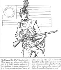 Small Picture All Things John Adams Coloring Pages Deborah Sampson And Molly
