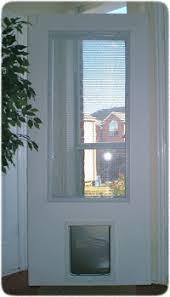 exterior door with window and dog door. exterior door with built in pet - xpd75 series window and dog r