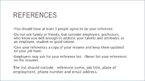 Resume Examples Skills Include References Should Letsdeliverco Inspiration Should You Put References On Your Resume