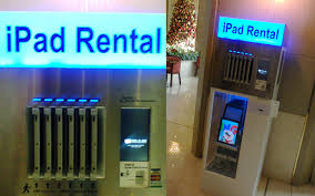 Renting Vending Machines Classy Rentagadget Dubai Firms Offering IPads Laptops LCDs On Rent In