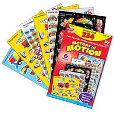 Details About 234 Reward Stickers Motors In Motion Cars Trend Variety Pack