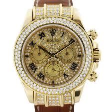 all diamond rolex daytona 116518 mens watch boca raton