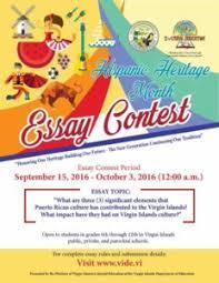 governor mapp recognizes hispanic heritage month u s virgin hispanic heritage month essay contest