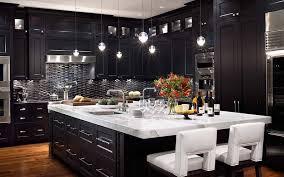 modern dark kitchen cabinets