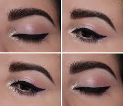 pink faerie glitter makeup look mac kitschmas pigment makeup geek cupcake white lies mufe multicolored white