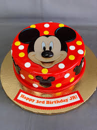Mickey Mouse Birthday Cake — Skazka ...