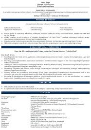 Software Experience Resume Sample Download Resume Samples Software