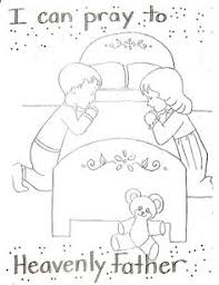 Small Picture Coloring Page Unique Lds Prayer Coloring Page Coloring Page and