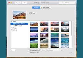 Desktop Background on a Mac ...