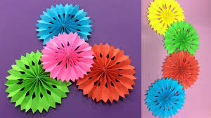 Easy Paper Flower How To Make Easy Paper Flower Making Paper Flowers Step By Step