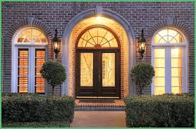 window above front door wooden stained glass interior home decor arched window above front door