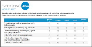 workplace values assessment disc profile how disc profiles work