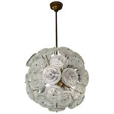 small sputnik style french chandelier for