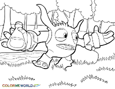 Small Picture Skylanders Coloring Pages Free Skylanders Coloring Pages to