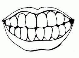 Small Picture Coloring Pages of Lips and Teeth Coloring pages Pinterest