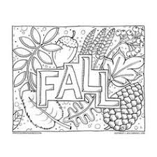 Small Picture Autumn Splendor Color Sheet Oak leaves Sunflowers and Autumn