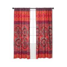 boho boutique nadia curtain panel multi colored 42x84 23 liked