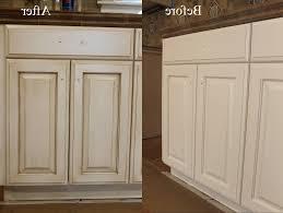 Of Glazed Cabinets Glazing Kitchen Cabinets Modern Kitchen 2017