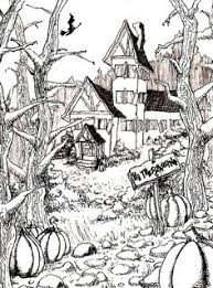 Small Picture ScaryColoringPagesforAdults TEEN OR ADULT HALLOWEEN COLORING