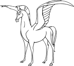 Small Picture Cute Pegasus Coloring Pages Wecoloringpage