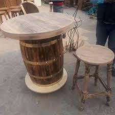 Wine barrel bar plans Ideas Wood Wine Barrel Bar Table And Stool Height Wine Barrel Savva Wine Barrel Table Top Outdoor Bar Plans End For Set Brisbane Savva