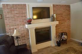 Renovate Brick Fireplace Transitional Fireplace Renovation In Cherry Hill Nj Next Level