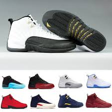 J12 Shoe Size Chart 12 12s J12 Seankers Winterized Bulls Black Nylon Bordeaux Michigan Flu Game French Blue The Master Men Women Basketball Sport Shoes Baseball Shoes