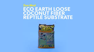 zoo med eco earth loose coconut fiber reptile substrate 24 qt bag chewy com