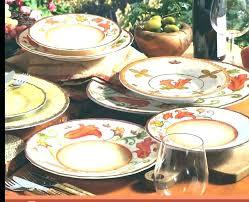 outdoor dinnerware sets trend melamine com indoor collection pineapple hibiscus uk
