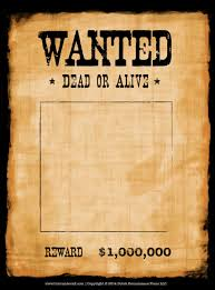 Most Wanted Poster Templates Most wanted poster template 24 j 24 lm 24 ml favored snapshoot blank 1