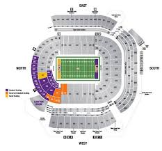 Lsu Seating Chart With Rows 2014 Tiger Stadium Seating Chart Lsu Students Lsu Tigers