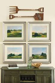 4 diffe looks with wall decor